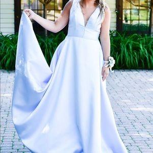 Jovani Prom Dress - Light Blue Soze 10/12